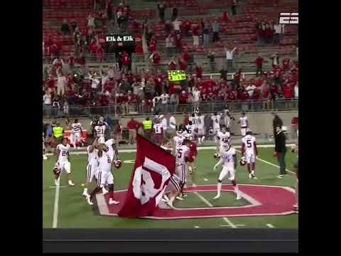 Oklahoma Sooners beat Ohio State Buckeyes in game 2 of the 2017-2018 FBS NCAA BIG XII VS. BIG 10