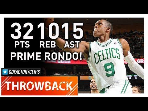 Throwback: Rajon Rondo Triple-Double Highlights vs Bulls (2012.02.12) - 32 Pts, 15 Ast, 10 Reb!