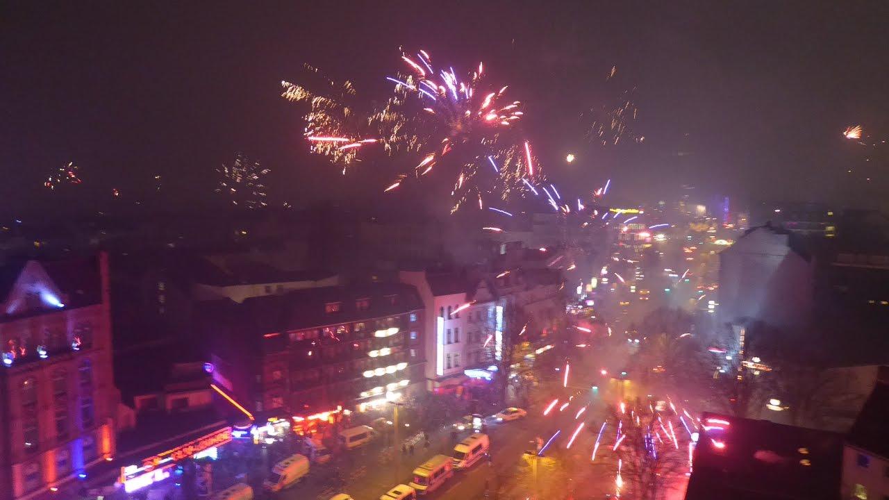 Silvester Feuerwerk Hamburg