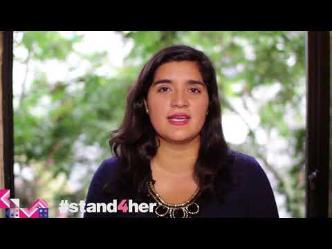 #stand4her - Paulina from Chile