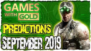 Xbox Games With Gold September 2019 Predictions | Xbox Live Gold September 2019