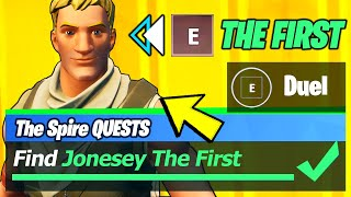 Find Jonesy The First Location & Duel Jonesy The First - Fortnite