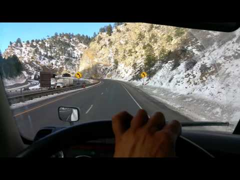 HOW TO drive automatic transmission in 2016 Freightliner through mountains