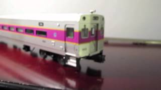 Check it out! An MBTA Atlas O Scale Cab Car!