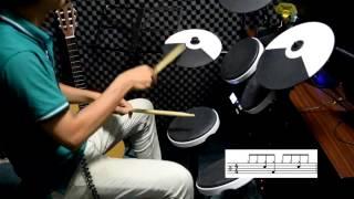 三分鐘學會爵士鼓基礎八分音符節奏