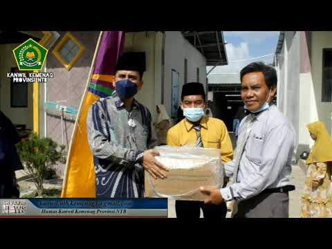 Kakanwil kemenag NTB menyapa ummat dan Sosialisasi Vaksin di Ponpes Nurul Haramain dan Thohir Yasin