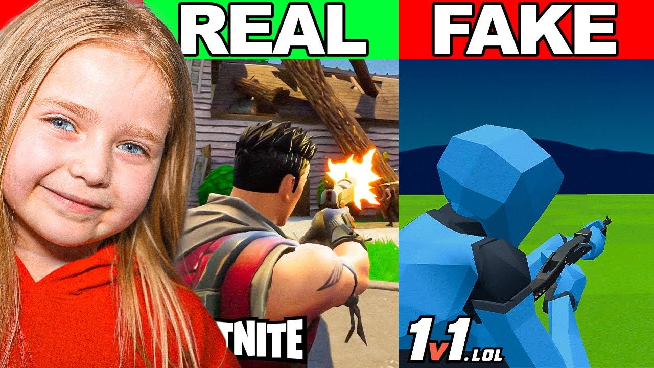 6 Year Old Plays WORSE Fortnite RIP-OFF For EVERY DEATH!!! *insan*