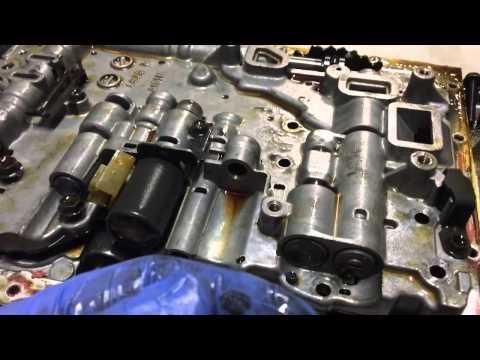 Toyota A340/A341 Valve Body Removal