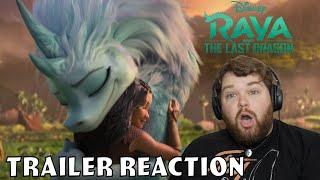 Trailer Reaction #2 - Raya and the Last Dragon