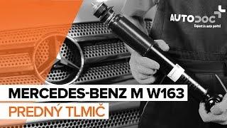 Ako vymeniť Tlmiče perovania MERCEDES-BENZ M-CLASS (W163) - online zadarmo video