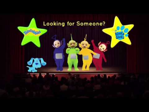 Teletubbies and Blue's Clues Looking For Someone Live (1/2)