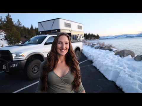 full-time-van-life-to-living-in-a-four-wheel-camper---hawk-truck-camper-review-tour