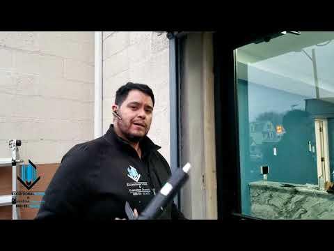 Storefront Glass Door Installation