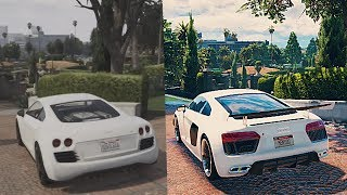 ► GTA 5 2013 vs 2017 | INSANE GRAPHICS COMPARISON [XBOX 360 vs PC]