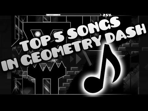 [NEW] Top 5 Best Songs in Geometry Dash