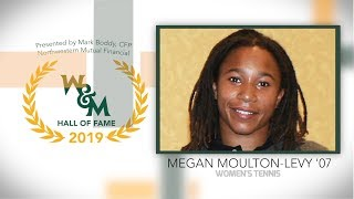 2019 W&M Athletics Hall of Fame - Megan Moulton-Levy '07 Women's Tennis