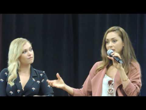 Wizard World Columbus - The 100 Panel - Pt 1 - Eliza Taylor, Lindsey Morgan and Zach McGowan