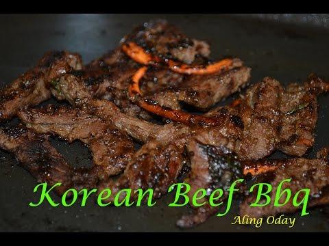 KOREAN BEEF BBQ (FILIPINO VERSION)