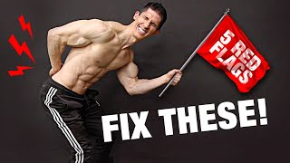 Fix Low Back Pain | 5 Red Flags (WARNING!)