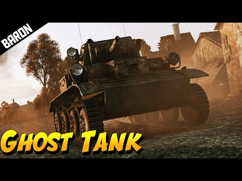 Ghost Tank Night Battle - War Thunder Gameplay