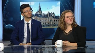 Youth discuss final days of campaign