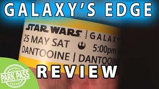 Star Wars Galaxy's Edge Review | Disneyland