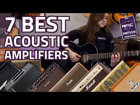 The Top 7 Best Acoustic Guitar Amplifiers For Performers - 2019