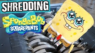 Shredding Spongebob Squarepants - Shredding Stuff