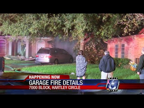 Woman, pet escape south side house fire