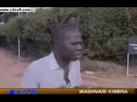 Kenya police beating people