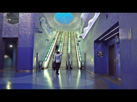 Tour por el metro de Nápoles, Italia / Arte y turismo en la ciudad