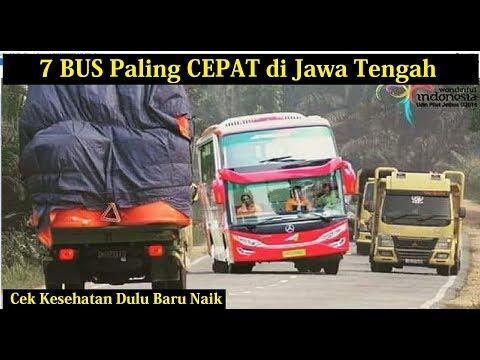 7 PO BUS Terkenal Cepat di Jawa Tengah