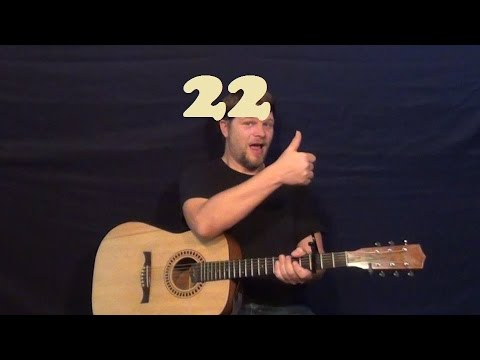 how to play 22 on guitar