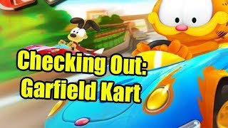 Checking Out: Garfield Kart