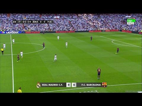 La Liga  Real Madrid Vs Barcelona - FULL HD 1080i - Full Match - Spanish Commentary