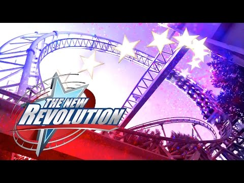 The New Revolution Roller Coaster Coming To Six Flags Magic Mountain 2016