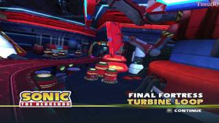 Sonic and Sega All-Stars Racing HD gameplay