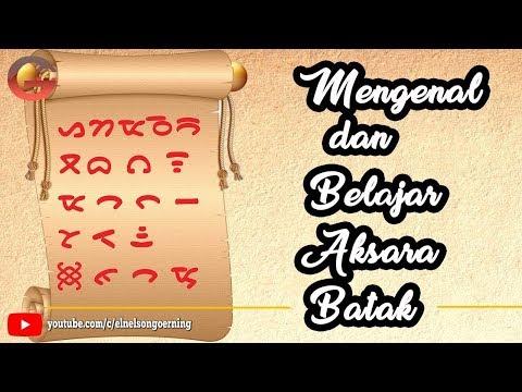 Mengenal dan Belajar Aksara Batak