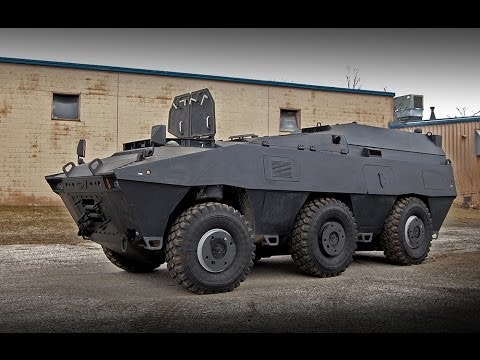 GPV Marshall 6x6x6 Armor Plated Tactical Swat General ...