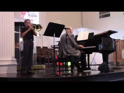 """How Majestic is Your Name"" Scott Schaffer, trombone"