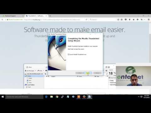 Setup Email In Thunderbird