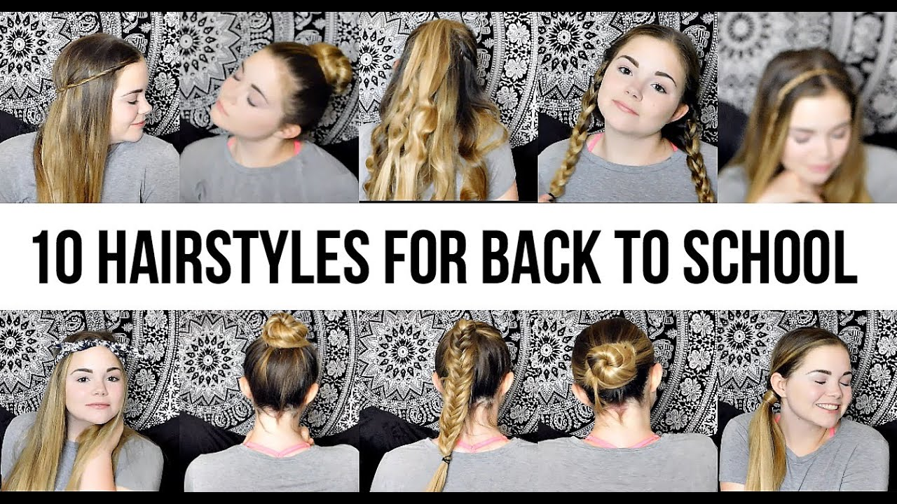 easy & cute hairstyles