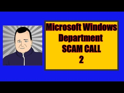 Microsoft Windows Department Scam Call 2