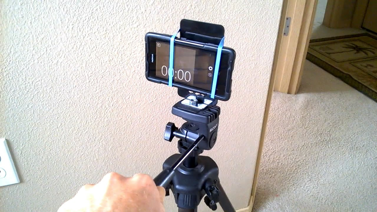 CELL PHONE TRIPOD MOUNT (fabrication) - YouTube