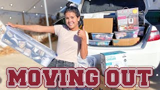 MOVING OUT TO COLLEGE!