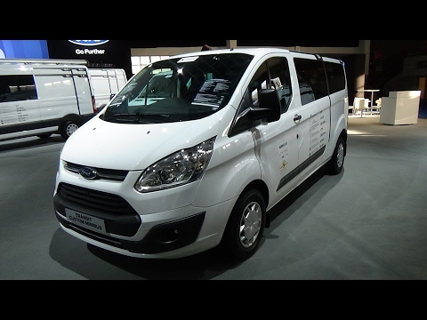 2017 Ford Transit Custom Minibus Ecoblue - Exterior and Interior - Auto Show Brussels 2017