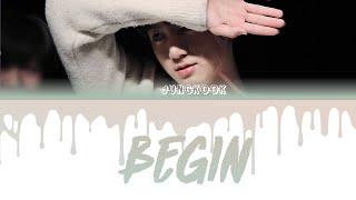 Download BTS Jungkook - Begin Color Coded Lyrics