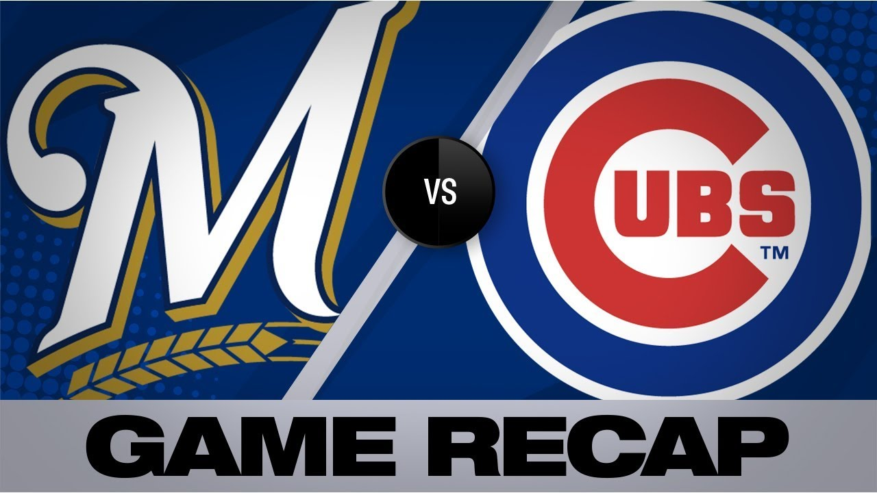 Chicago Cubs fall to Milwaukee Brewers 8-3