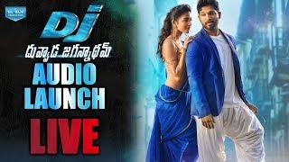 Dj - duvvada jagannadham audio launch live | alluarjun, pooja hegde, harish shankar, dsp