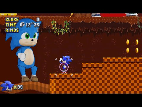 Sonic Movie Mania Plus Mod - Final Version + More Extra Special